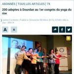 כתבה בעיתון פריזאי